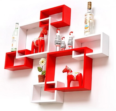 P ka cube premium szafka nowoczesna p ka cienna - Rangement livre mural ...